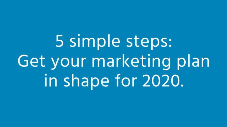 Is your marketing ready for the new decade?