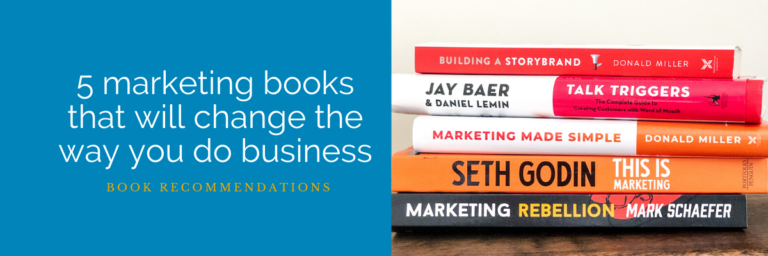 Marketing books: 5 that will change the way you do business in 2020